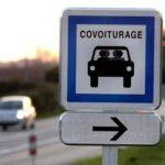 Panneau de signalisation pour covoiturage