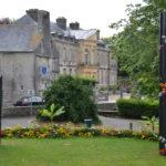 Hôtel de Beaumont vu du jardin public