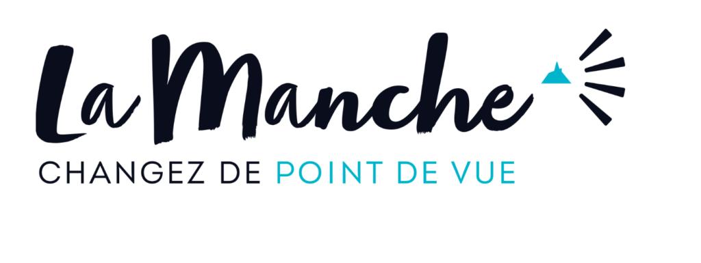 """Logo """"La Manche - Changez de point de vue"""""""