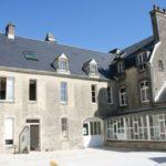 Cour intérieure de la Maison Familiale et Rurale de Valognes