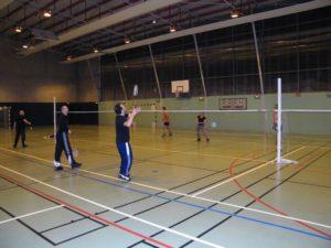 Activités de badminton