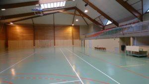 Grande salle du Complexe polyvalent Marcel Lechanoine