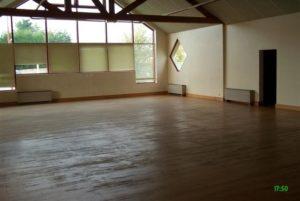 Petite salle du Complexe polyvalent Marcel Lechanoine