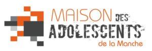 """Logo """"Maison des adolescents de la Manche"""""""