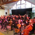 Photo d'un concert de l'école de musique à la petite salle du complexe Marcel Lechanoine