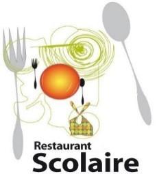 Restaurant Scolaire - Clipart représentant une fourchette et une cuillière