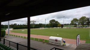 Stade George Pillet vu des tribunes