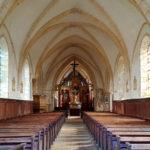 Intérieur de l'église Notre-Dame d'Alleaume
