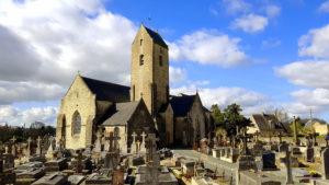 Église Notre-Dame d'Alleaume et son cimetière