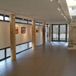 Vue de la galerie d'exposition - côté cour