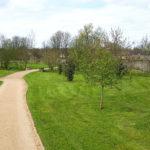 Chemins au Parc des Cordeliers