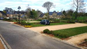 Parking végétalisé du Parc des Cordeliers