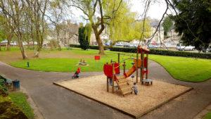 Aire de jeux au Jardin Anne Heinis