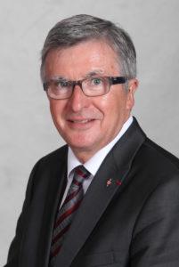 Photo, portrait de monsieur Jacques COQUELIN, Maire de Valognes