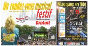 Affiche 5ème édition de Musiques en fête