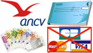 Moyens de paiement (ancv, chèque, espèces. Pas de carte bancaire)