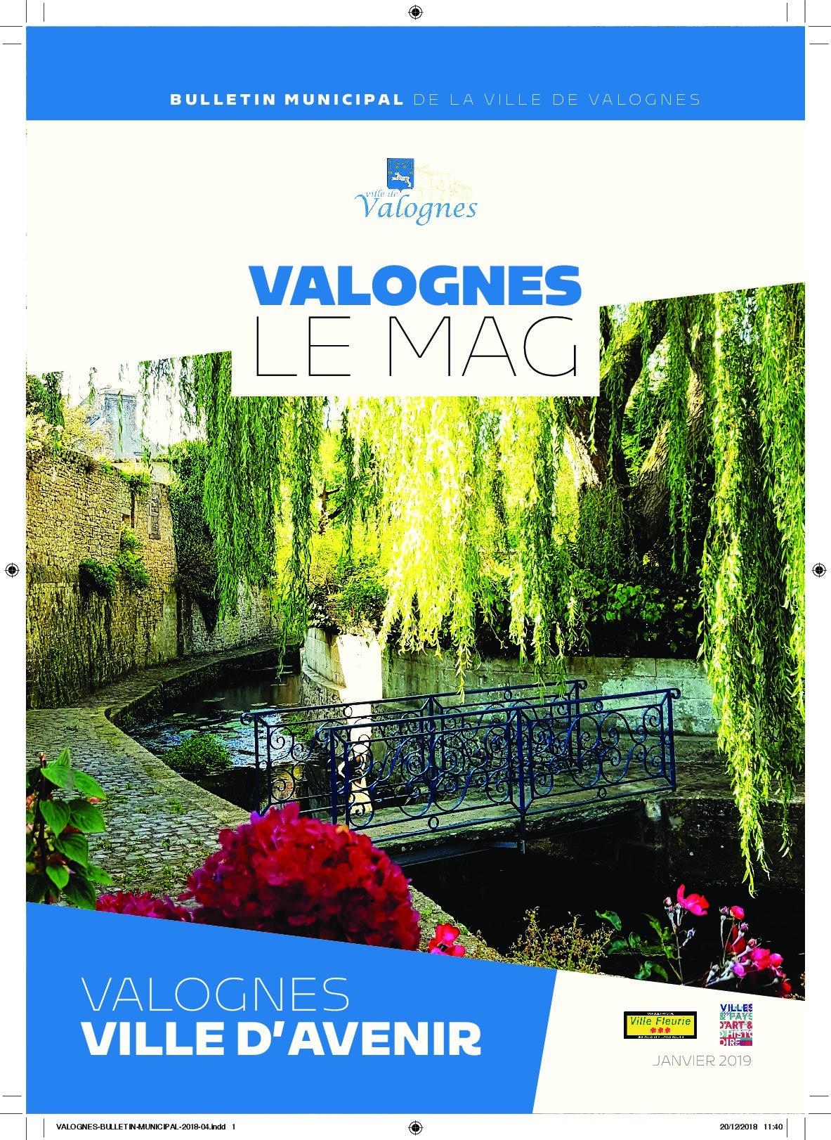 Bulletin municipal 2018 - Valognes, ville d