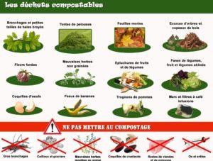 Les déchets compostables