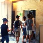 Jeune public en visite