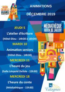 Programme décembre 2019