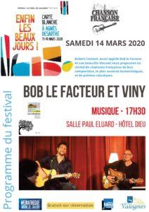 Bob Le Facteur et Viny affiche