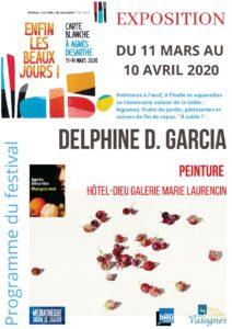 Delphine D. Garcia affiche