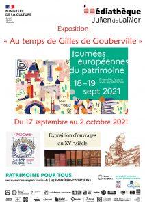 Affiche exposition fonds ancien 2021